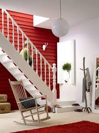 Rote Wand Mit Rottönen Wohnen Wände In Warmen Rot Wohnen