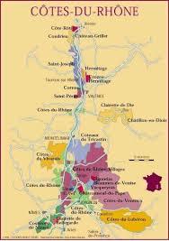 Rhone Size Chart Cotes Du Rhone Wine Area Map In 2019 Italian Wine French
