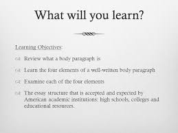 what will you learn what will you learn learning objectives  2 what