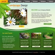 Landscape Website Designers Website Template 15651 Landscape Design Grass Custom