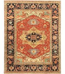 pasargad serapi navy red heriz rustic area rug wayfair rustic area rugs