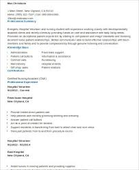 Sample Volunteer Resumes Sample Volunteer Resume 10 Examples In Word Pdf