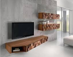 10 Modern Floating Media Cabinet For the Living Room