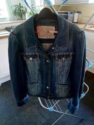 debenhams red herring denim jacket as new