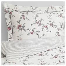 stenÖrt duvet cover and pillowcase s flower thread count 250 inch²