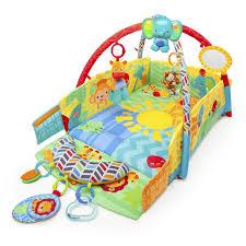 bright starts™ sunny safari™ baby's play place™ activity gym