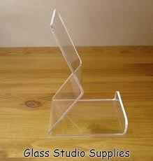 Acrylic Book Display Stands Impressive Clear Acrylic Book Display Stand Glass Studio Supplies