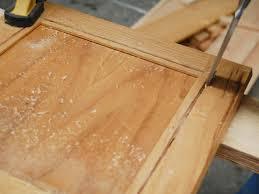 installing glass inserts to kitchen cabinets chisel cut corners free