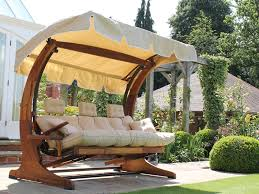 image of outdoor swing with canopy plan