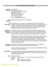 Resume For Second Job Caregiver Resume Skills New Awesome Lpn Resume
