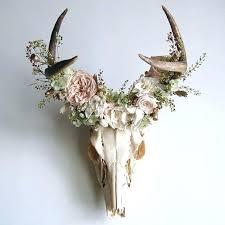 deer antler headband deer antlers with flowers headband pin by freeman on deer heads fl antlers deer antler headband