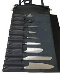 premium genuine leather 10 slot space professional chef