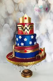 Wonder Woman Cake Custom Cakes From Wildys Cake Boutique In