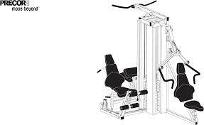 Precor Fitness Equipment S3 45 User Guide Manualsonline