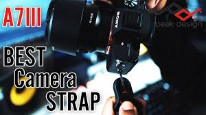 Peak Design Leash Sony A7 Best Camera Strap For Your Sony A7iii Peak Design Slide Lite