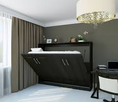 comfortable bedroom design with murphy bed kit homesfeed regarding kits decorations 5