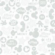 Disney Patterns Amazing York Wallcoverings Walt Disney Kids II Animated Tonal Wallpaper