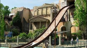 small fire shuts down escape from pompeii at busch gardens