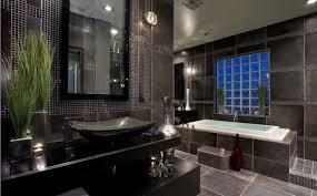 Black and gray. bathroom-color-schemes-20