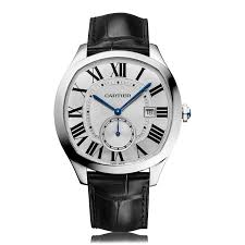 mens cartier watches the watch gallery cartier drive de cartier automatic stainless steel white dial mens watch wsnm0004
