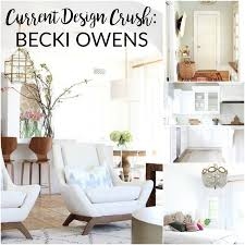 Current Design Crush: Becki Owens - The Imperfectionist