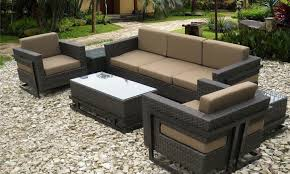 Furniture Patio Sectional Clearance Cube Garden Furniture Wicker