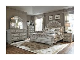 furniture dresser. Liberty Furniture Magnolia ManorKing Upholstered Bed, Dresser, Mirror \u0026 Nigh Dresser