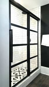 framed sliding shower door adorable framed sliding shower doors with best framed shower door ideas on framed sliding shower door