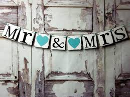 mr and mrs wedding signs wedding banners rustic barn wedding