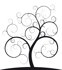 Ideal Family Photo Tree Outline With
