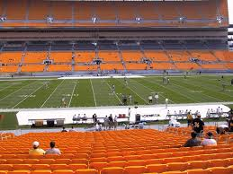 Heinz Field View From Lower Level 134 Vivid Seats