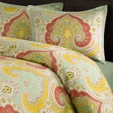yellow paisley duvet cover sweetgalas