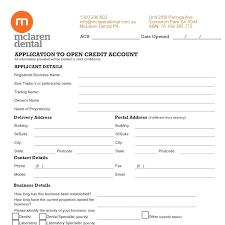 Rental Credit Application Credit Application Form For Rental Property Ericremboldt Com