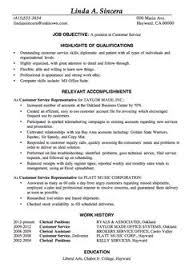 Good Example Resume Best Customer Service Resume Example Resume Pinterest Customer