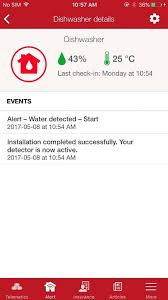 alert water detection program screen shot cnw group state farm mutual automobile insurance co