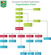 Organisation Chart Guyana Football Federation