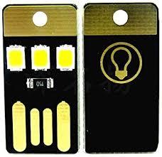 10pcs JacobsParts 3 LED USB Portable <b>Night Light Bright</b> Mini ...