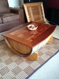 wine barrel coffee table how to make a projects for everyone wooden beer keg wooden barrel table