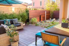 modern zen garden green design