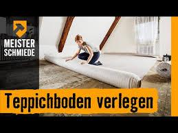 Es gibt hier eine methode, mit der sie jede form von stufen belegen können. Teppichboden Verlegen Anleitung Von Hornbach