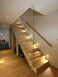 stair lighting ideas. Staircase Lighting Ideas Extremely Basement Stair Contemporary Decoration Comely Stairway Style . O