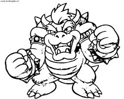Super Mario Odyssey Bowser Coloring Pages Coloring Pages Astounding