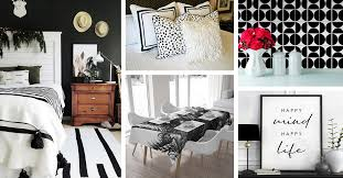 and white home decor ideas and designs