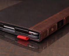 otterca book ipad mini leather case vine book cover case genuine leather wallet case