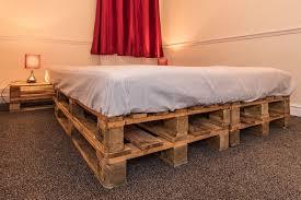 king size pallet bed amazing king size pallet bed frame in uxbridge london gumtree