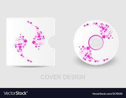 Cd Dvd Blu Ray White Cover Design Template