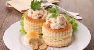 mushroom vol au vents recipe ndtv food