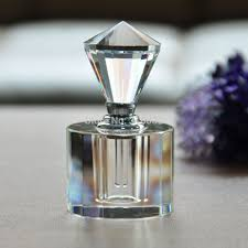 How To Decorate Perfume Bottles Clear 100ml Vintage Crystal Perfume Bottle Cutting Facets Glass 83