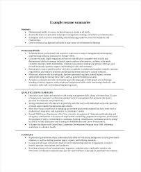 Resume Summaries Examples Mmventures Co Tyneandweartravel Awesome Resume Summaries