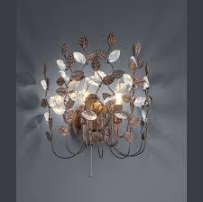 Wandlampe Im Kronleuchter Style Mit E14 Schraubsockel